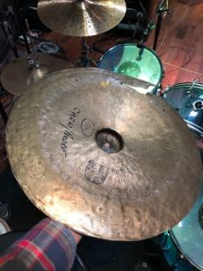 Fred Eltringham cymbal