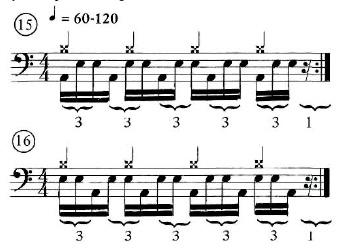 Advanced Quarter-Note Hi-hat rhythms 1