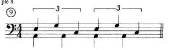 Artificial Groupings For Fills 9