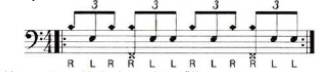 Paradiddle-diddle 9