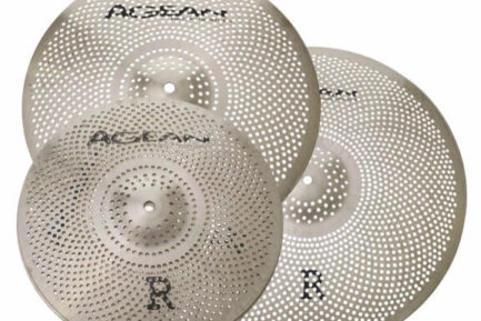 Agean low-noise cymbals