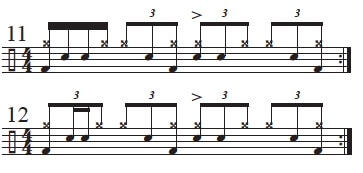 Varying Main Groove 1