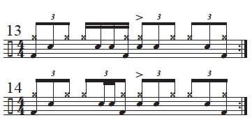 Varying Main Beat 2