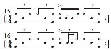 Varying Main Beat 3