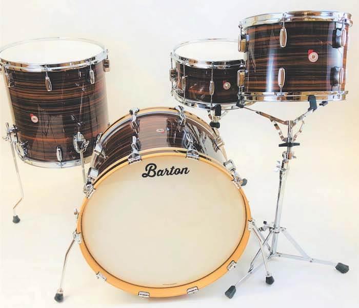Barton Vintage Beech Drumset