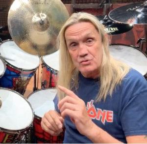 Nicko McBrain Drummer | Modern Drummer Archive
