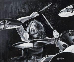 Dave Grohl Drummer | Modern Drummer Archive