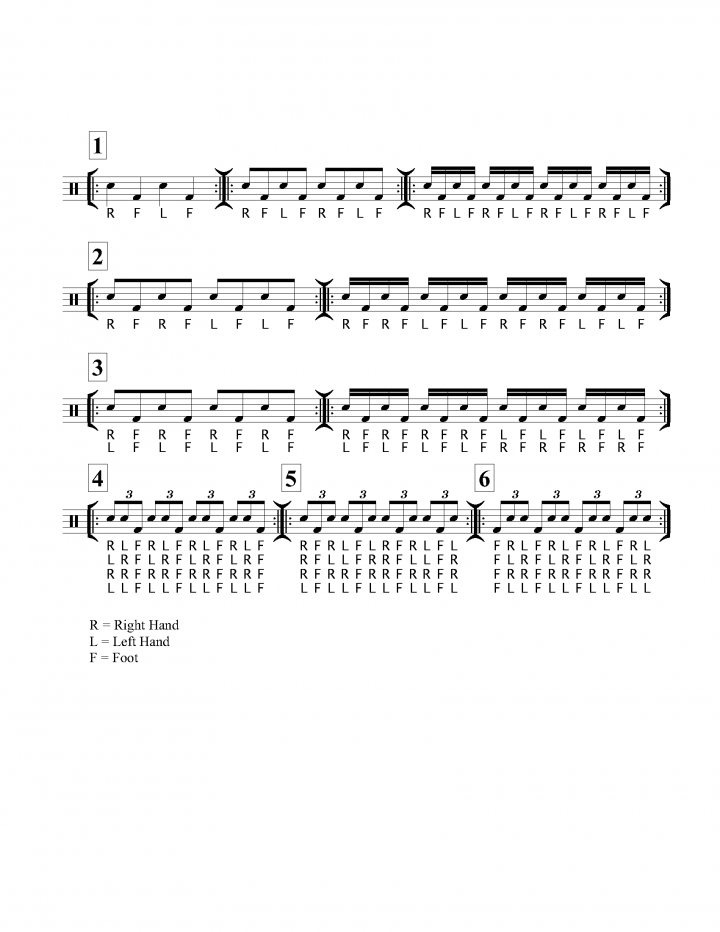 July 2020 Frist Person Music Notes