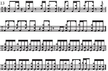July 2020 Dirk Verbeuren Music notes