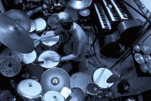 Gerry Gibbs drum set July 2020