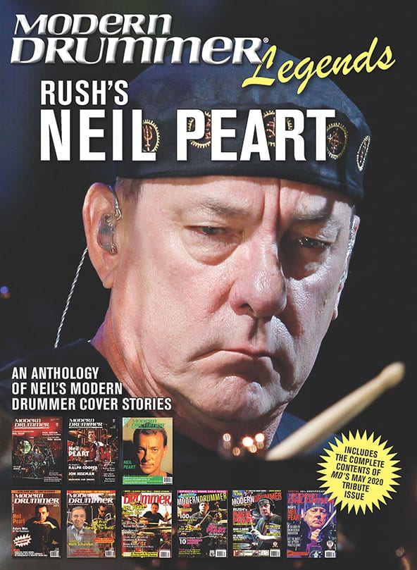 Neil Peart Legends Cover