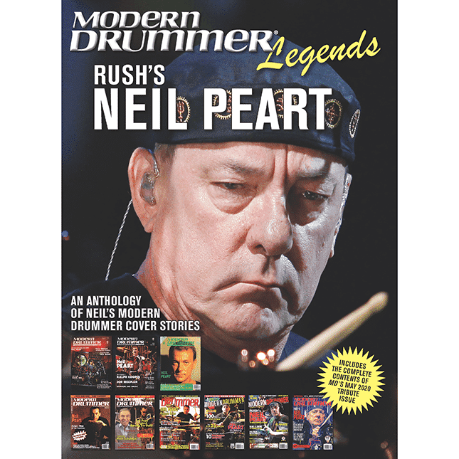 Neil Peart Legends feature