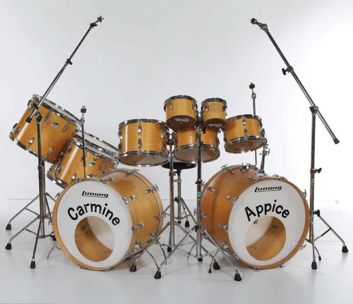 Carmine Appice's 1976 Realistic Rock Drumset