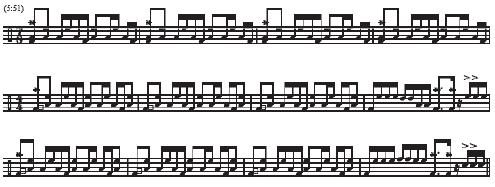 La Villa Strangiato music notes 1 of 2
