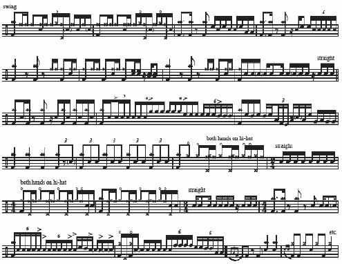 La Villa Strangiato Music Notes 2 of 2
