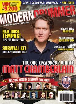 Jan 2012 Matt Chamberlain