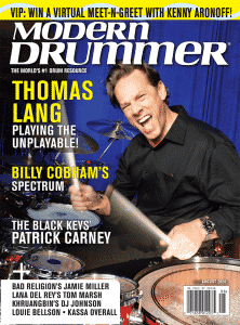 Thomas Lang Drummer | Modern Drummer Archive