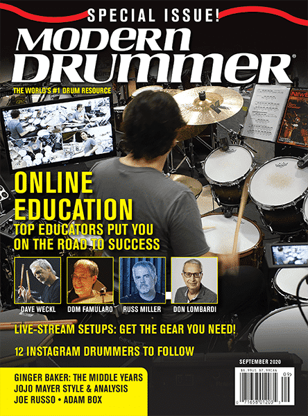 MODERN DRUMMER SEPTEMBER 2020 COVER