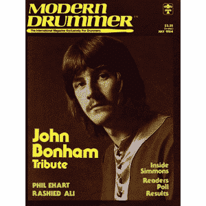 Modern Drummer July 1984 Issue Vol 8 No 7 Cover