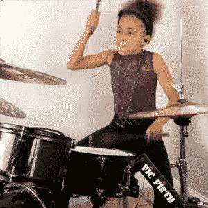 Nandi Bushell Drummer | Modern Drummer Archive