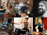 12 drummers to follow