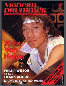 Alex Van Halen Drummer | Modern Drummer Archive