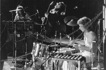 Bill Bruford with Yes 1971