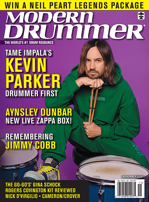 Modern Drummer November 2020 Vol 44 No 11