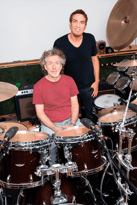 Simon Phillips and  Derek Sherinian