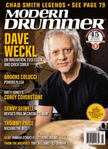Dave Weckl Drummer | Modern Drummer Archive
