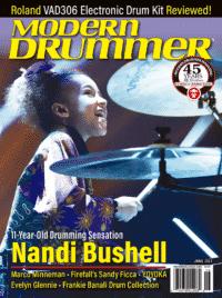 Modern Drummer June 2021 Cover
