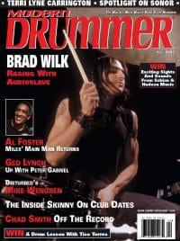 Brad Wilk Drummer   Modern Drummer Archive