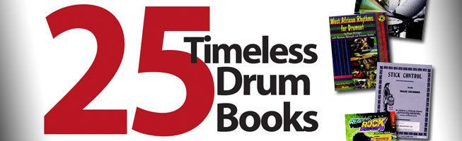 25 drum books
