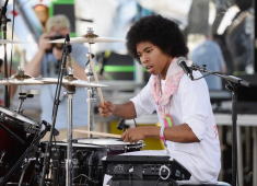 Hi, guys and girls! My name is Anaiah Lei, and I drum for a band called the Bots, from Los Angeles, California. I was born and raised in Los Angeles, and I've been drumming for about eleven years. I joined the Bots not too long after it started and have been with the group since....