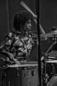 Drummer Anaiah Lei