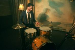 Drummer Evan Howard of Deadbeat Darling Blog