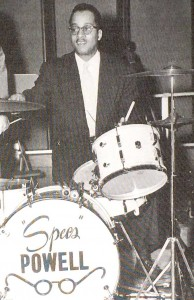 "Drummer Gordon ""Specs"" Powell"