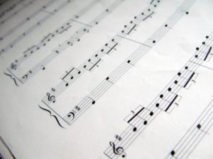 Steve Fidyk - reading sheet music