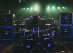 What's up <em>Modern Drummer</em> readers? I'm Jerod Boyd and I play drums for a band called Miss May I. We are a metalcore band with quick riffs, heavenly harmonies, and heavy drumming...