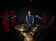 Hello world! Mathieu Bauer here, of the band Brutai. I am French and twenty-two years old, but most of all I am a drummer....