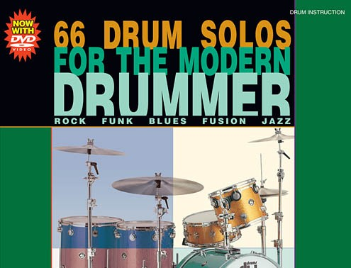 66 Drum Solos forthe Modern Drummer  by Tom Hapke