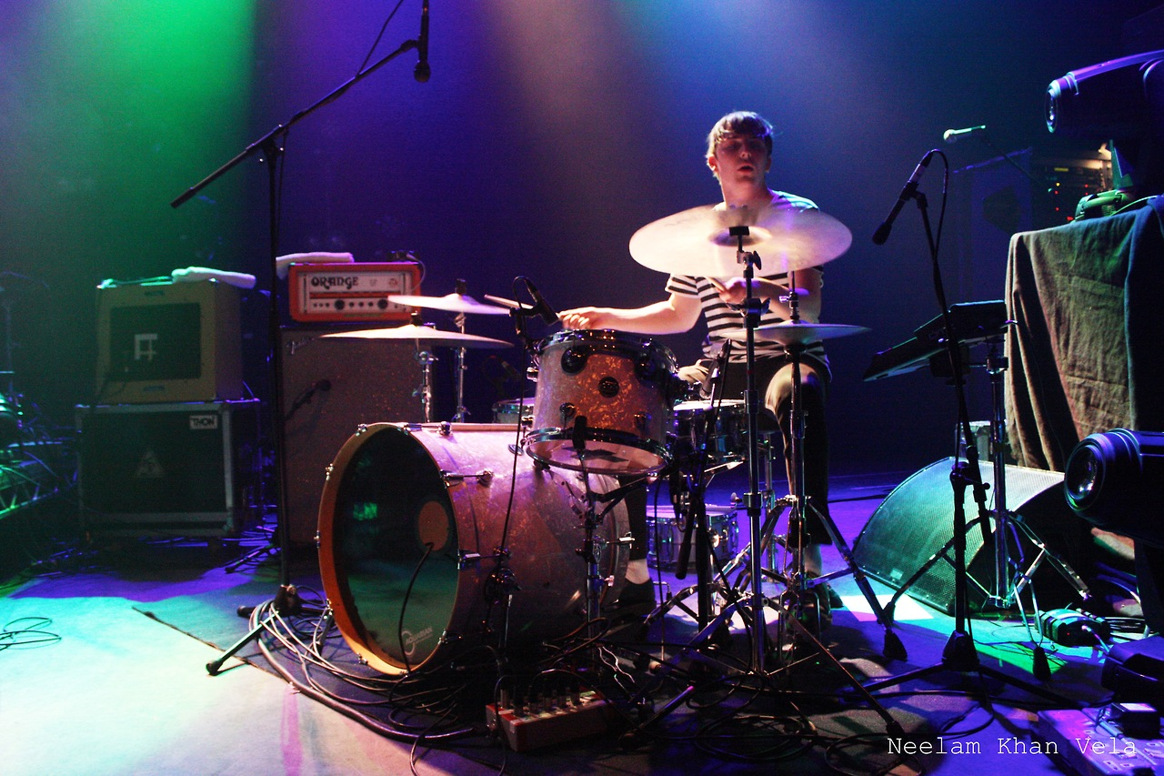 Drummer Jonny Williams of Childhood