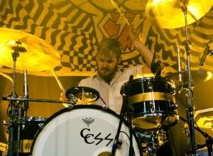 drummer J.R. Kurtz of CSS