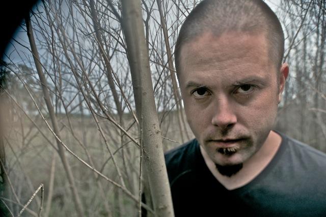 Drummer John Boecklin of Devildriver