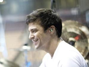Drummer Chris Crippin of Hedley