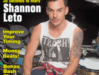 <b>August 2014 Issue of Modern Drummer Featuring Shannon Leto of 30 Seconds to Mars</b>