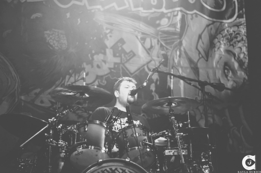 Drummer Adam Patterson of the Expendables Blog, Photo by Kayla Surico.