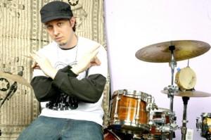Drummer Adam Deitch of John Scofield
