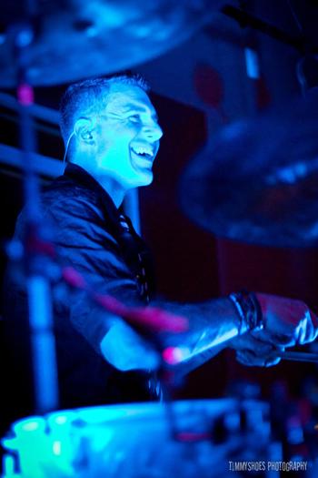 Drummer Dwayne Scott of Alabaster