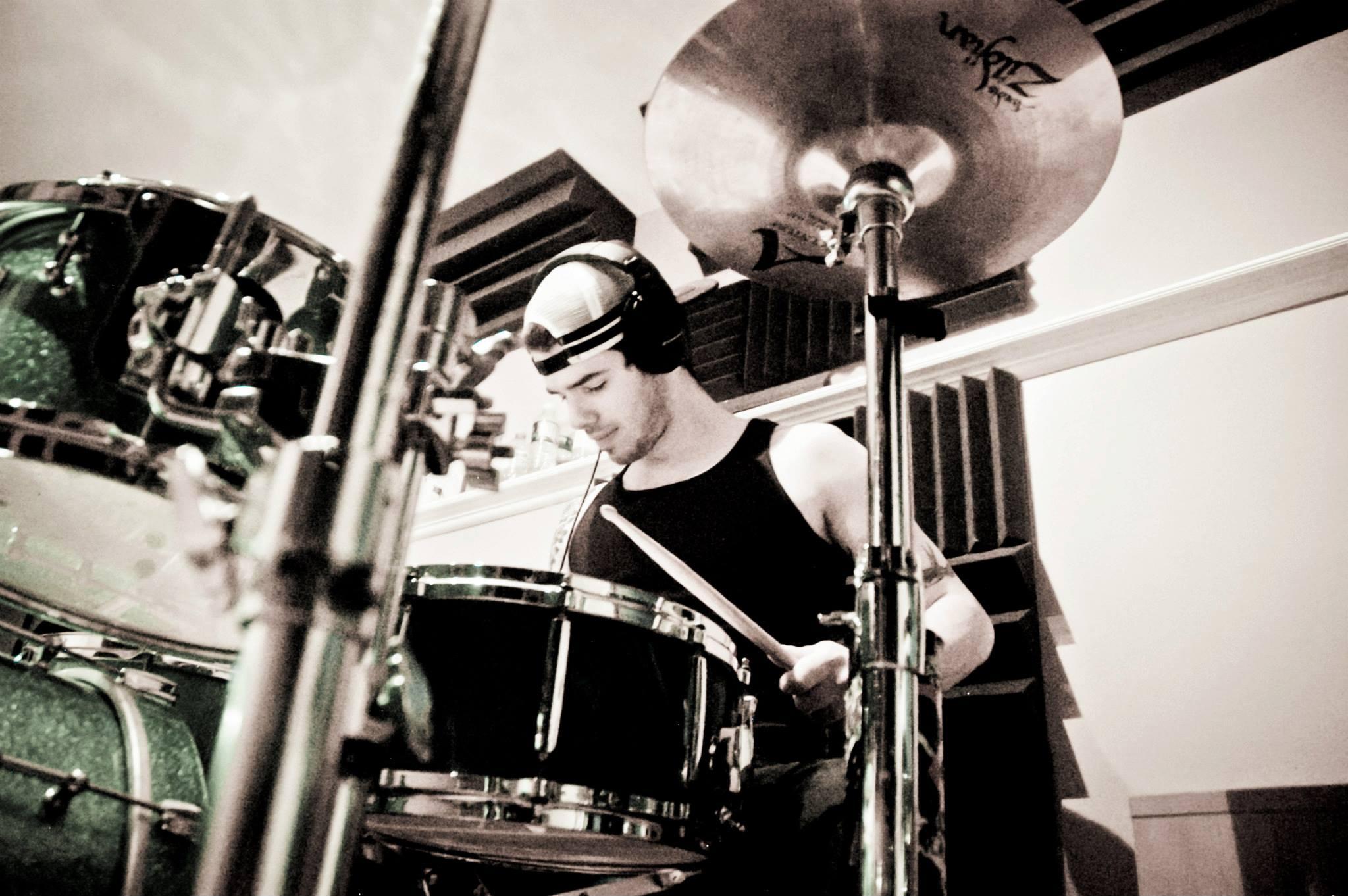 Drummer Alex Mascarin nd We Outspoken